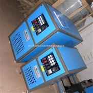 供应电热设备:9kw模温机,50kg热风干燥机,
